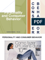 Personality and Consumer Behavior - UNJ