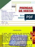 PROYECTO DE PRENDAS DE VESTIR