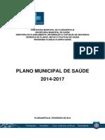 Plano Municipal de Saude 2014-2017