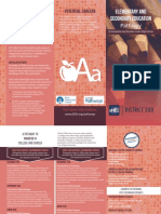 education pathway brochure