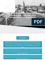The Use of Alternative and Improved Construction Materials
