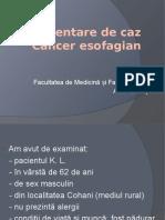 Prezentare de Caz Oncologie