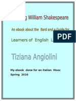 Studying  William  Shakespeare - an ebook by Tiziana Angiolini  - Learning about the BARD