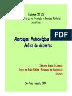 Abordagens Metodolgicas Para a Anlise de Acidentes_ Ildeberto Muniz de Almeida.pdf