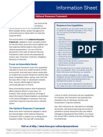 FEMA_2013_National Response Framework Information Sheet