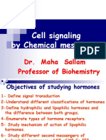 Cell Signalling Final 2013