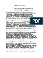 Freud Vol XII - Técnica 1- A Dinamica Da Transferencia