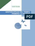 Manual Gestion Del Tiempo