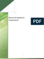 Manual de Asignatura Programación C#