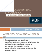 James Clifford, Sobre La Autoridad Etnográfica