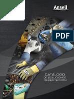 Catalogo de Soluciones de Protección Ansell 1er Edición