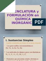 Nomenclatura de compuestos inorgánicos
