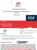 Ciencia y Tecnología en America Latina