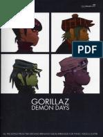 Gorillaz Demon Days Songbook PDF