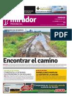 Edición impresa del domingo 15 de mayo de 2016