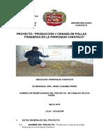 Proyecto Pollas Chantaco 3-08-2015