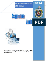 Auditoria Integral Documento 2014