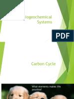 b1 - biogeochemical cycles