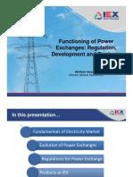 Akhilesh Awasthy - 3 - Functioning of Power Exchanges