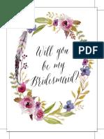 Be My Bridesmaid 6