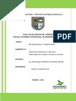 Gabinete 1 de Meteorologia . y Climatologia