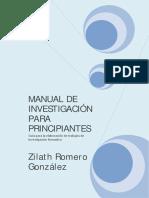 ROMERO GONZÁLEZ, Z. 2009. Manual de investigación para principiantes.pdf