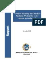 Improving India Pakistan Relation