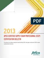Cscp International Bulletin