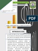 Auditoria de base de datos