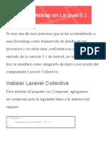 Integrar Bootstrap 3 en Laravel 5.1