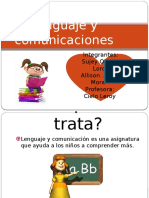 Lenguaje y Comunicaciones