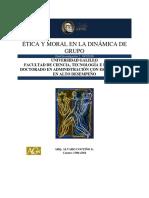 Etica y Moral en La Dinamica de Grupo