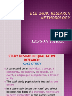 Research Methodology PPT LESSON 3