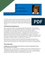 IT6750 Pract Profile - Julie Bowline