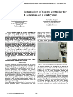 Journal on Design and implementation of Sugeno controller for Inverted Pendulum on a Cart system.pdf