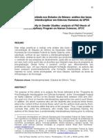 A Interdisciplinaridade nos Estudos de Gênero