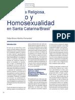Enseñanza Religiosa, Género y Homosexualidad en Santa Catarina/Brasil