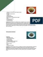 25 Recetas de Carne y Pescado