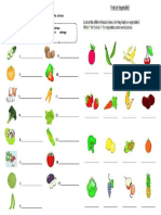 Fruit Vegatble