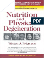 Weston a Price - Nutrition and Physical Degeneration