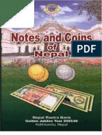 Billetes y Monedas de Nepal