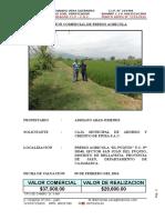 Tasacion Predio Agricola El Puquio
