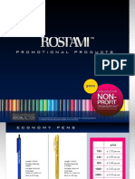 Promotional Products Pen Catalogue