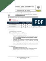Cot. 123 Municipalidad Provincial de Chiclayo - Bordillos de Concreto - Puesto en Obra - Chiclayo