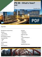 SAP HANA SPS 09 - XS Programming Model