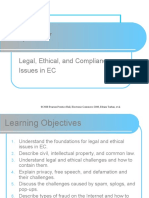 Legal, Ethical and Compliance Issues in EC
