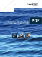 Environmental Best Practices for the Offshore Petroleum Industry