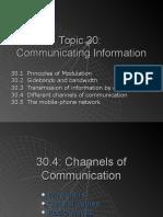 Ch 20B - Communicating Information