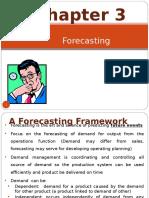Chapter 2;Forecasting