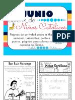 Junio 2016 Boletín Para Niños Católicos